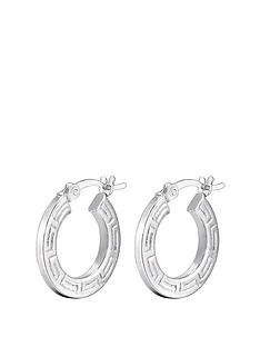 the-love-silver-collection-sterling-silver-greek-print-hoop-earrings