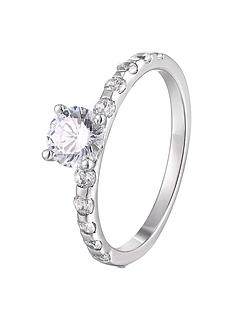 the-love-silver-collection-sterling-silver-cubic-zirconia-solitaire-ring-with-set-shoulders