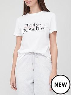 v-by-very-front-print-tee-white