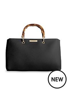 katie-loxton-avery-bamboo-handle-tote-bag-black