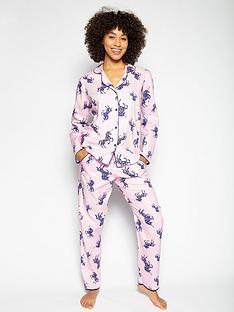cyberjammies-ariana-mini-me-unicorn-pyjama-set-multi