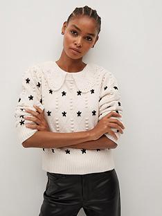 mango-embroidered-jumper-beige