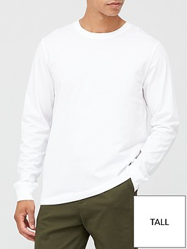 very-man-tall-essential-long-sleeve-t-shirt-white