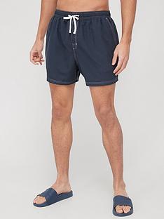 very-man-contrast-stitch-swim-shorts-navy