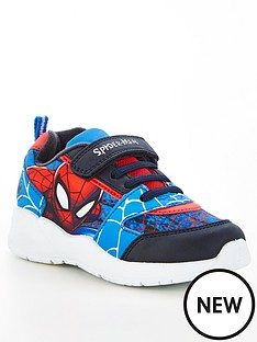 spiderman-boys-spiderman-velcro-trainers-blackmulti