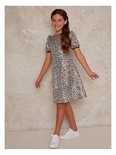 chi-chi-london-girls-leopard-dress-multi