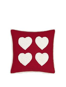 catherine-lansfield-cosy-hearts-cushion