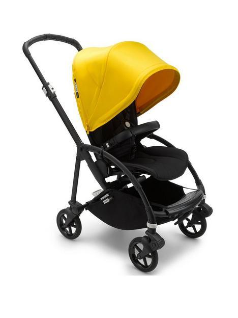 bugaboo-beenbsp6-complete-pushchair-blacklemon-yellow