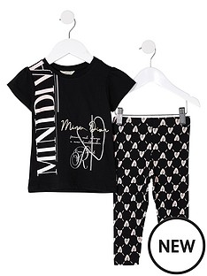 river-island-mini-mini-girls-printed-legging-and-t-shirt-set--nbspblack