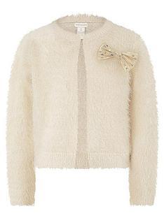 monsoon-girls-fluffy-knitted-cardi-ivory