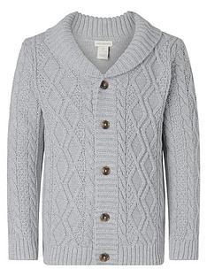 monsoon-boys-cable-knit-cardigan-grey