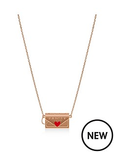 radley-radley-rose-gold-tone-hello-love-postcard-and-envelope-pendant-ladies-necklace