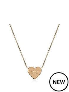 radley-radley-gold-plated-sterling-silver-heart-pendant-ladies-necklace