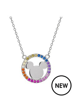 disney-disney-mickey-mouse-sterling-silver-rainbow-crystal-pendant-necklace