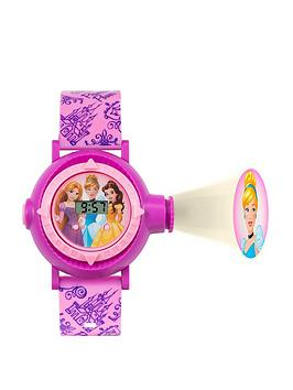 disney-pn3007arg-princess-digital-projector-dial-printed-strap-kids-watch