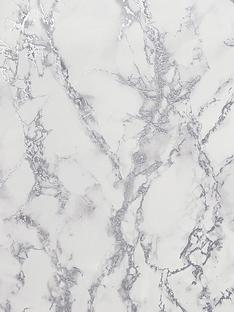 arthouse-carrara-marble-silver-wallpaper