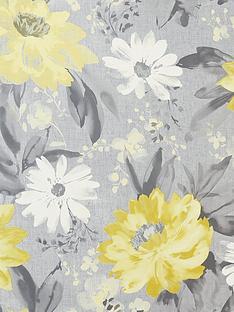 arthouse-painted-dahlia-floral-ochre-wallpaper
