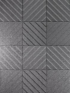 arthouse-hotel-tile-gunmetal-grey-wallpaper