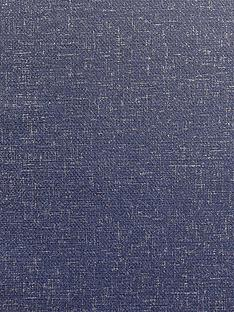 arthouse-calico-plain-navy-wallpaper