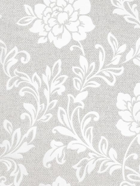 arthouse-calico-floral-grey-wallpaper