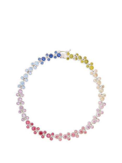 disney-disney-mickey-mouse-sterling-silver-rainbow-crystal-mickeys-bracelet