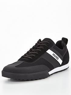 hugo-matrix-low-trainers-black