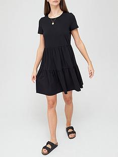 v-by-very-tiered-jersey-dress-blacknbsp