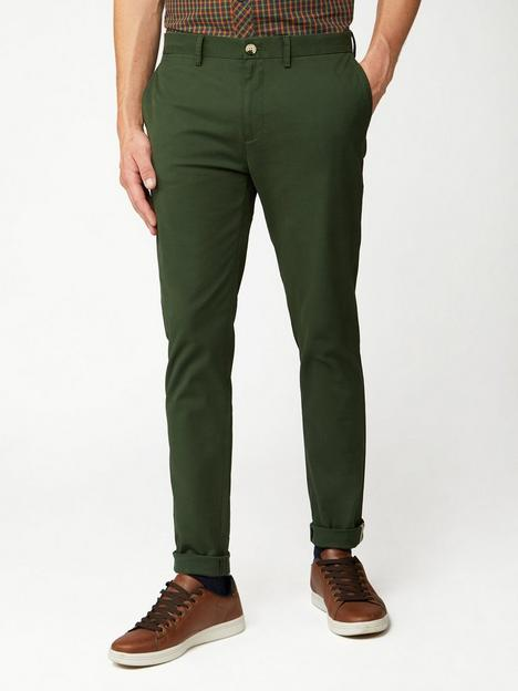 ben-sherman-signature-skinny-stretch-chinos-khaki