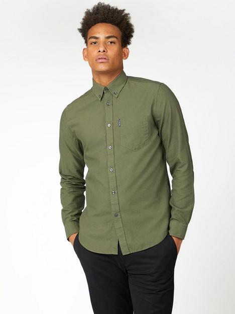 ben-sherman-ben-sherman-long-sleeve-signature-oxford-shirt