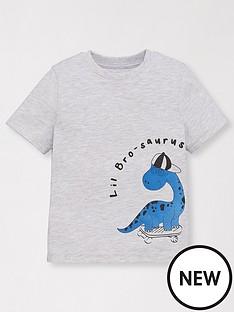 mini-v-by-very-boys-little-bro-saurus-t-shirt-grey