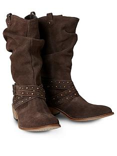 joe-browns-a-touch-of-boho-suede-boots-brown
