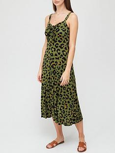 v-by-very-tie-detail-jersey-midi-dress-animal-printnbsp