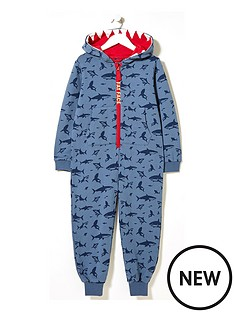 fatface-boys-shark-print-sweat-all-in-one-navy