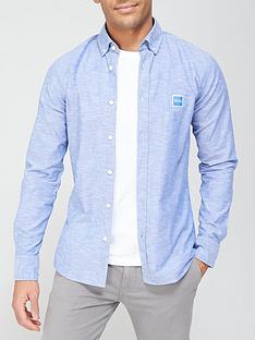 boss-mabsoot-oxford-shirt-blue