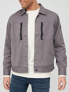 boss-logo-sleeve-sweatshirt-charcoalnbsp