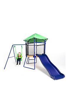 sportspower-toddler-swing-climber-slide