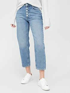whistles-hollie-button-front-jeans-blue