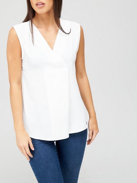 v-by-very-value-sleeveless-notch-neck-top-ivory