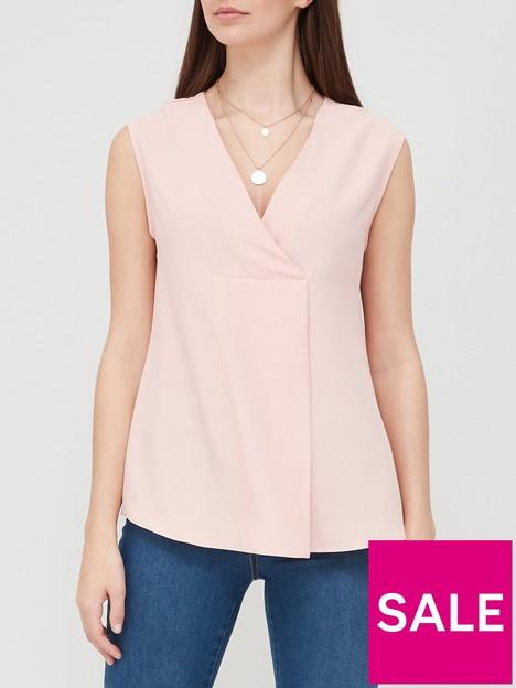 v-by-very-value-sleeveless-notch-neck-blousenbsp--blushnbsp