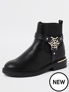 river-island-girls-r-buckle-ankle-boots-black