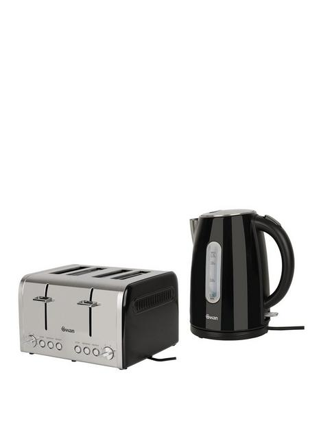 swan-kettle-and-4-slice-toaster-pack-black