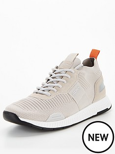 boss-titanium-knit-runner-trainers-grey