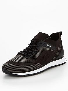 hugo-icelin-knit-runner-trainers-black