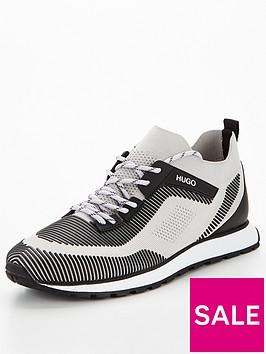 hugo-icelin-knit-runner-trainers-grey