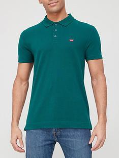 levis-batwing-logo-polo-shirt-green