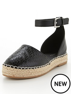 v-by-very-megan-2-part-espadrille-black