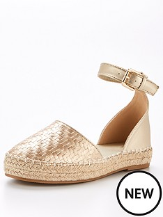 v-by-very-megan-2-part-espadrille-gold