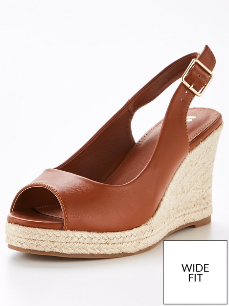 v-by-very-wide-fit-slingback-wedge-tan
