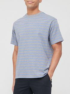 prod1090353924: Vintage Stripe T-Shirt - Blue