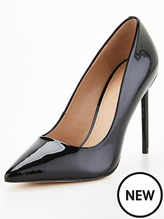 office-harlem-heeled-shoe-black